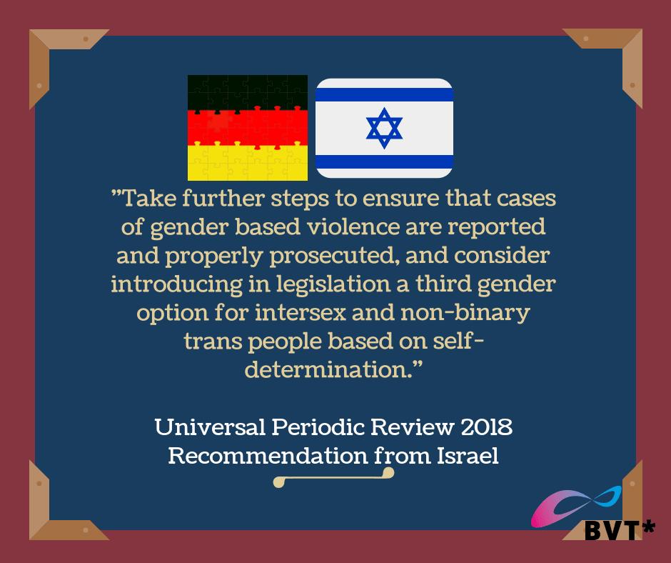 Deutschland Ignoriert Im UN-Menschenrechtsrat Staatenempfehlung Zum Selbstbestimmten Geschlechtseintrag