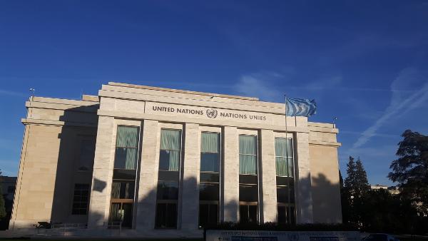 Das Gebäude Der Vereinten Nationen In Genf. Foto: Kim Trau/BVT*
