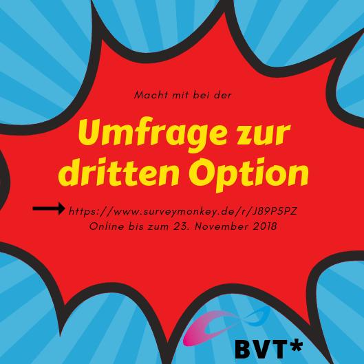 Gefragt: Ihre / Deine Meinung Zur Dritten Option Beim Geschlechtseintrag!
