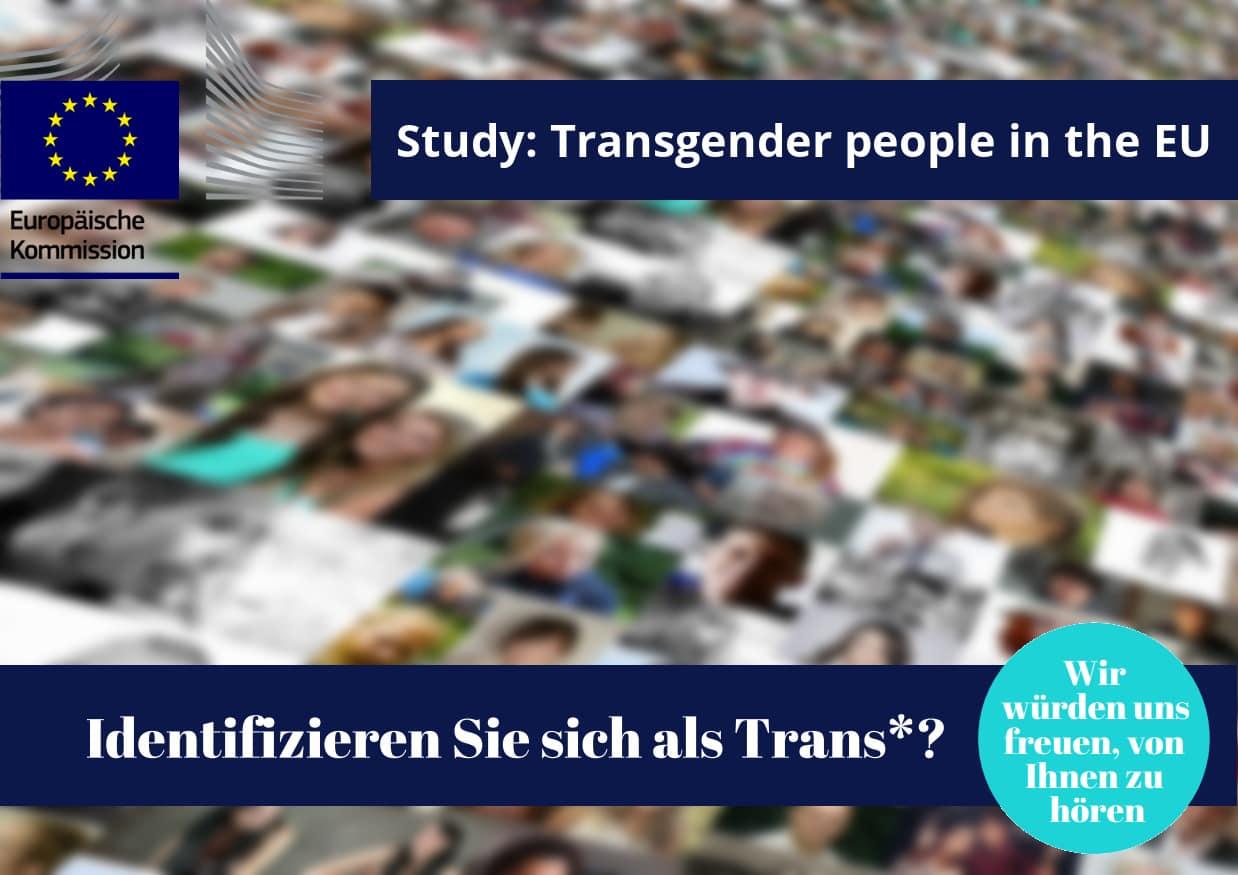 EU-Umfrage Zur Lebenssituation Von Trans* Menschen In Europa – Teilnehmer*innen Gesucht!