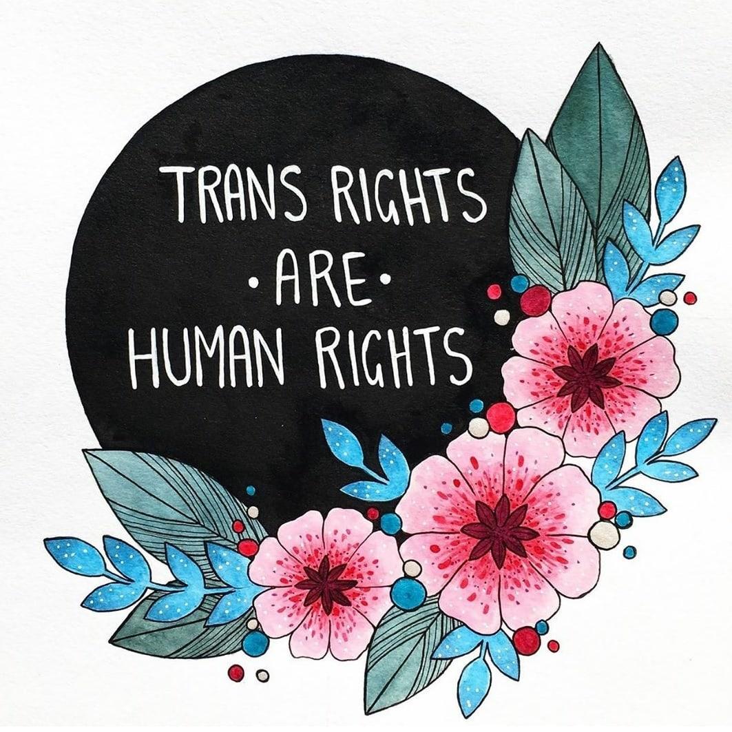 Transrightsarehumanrights